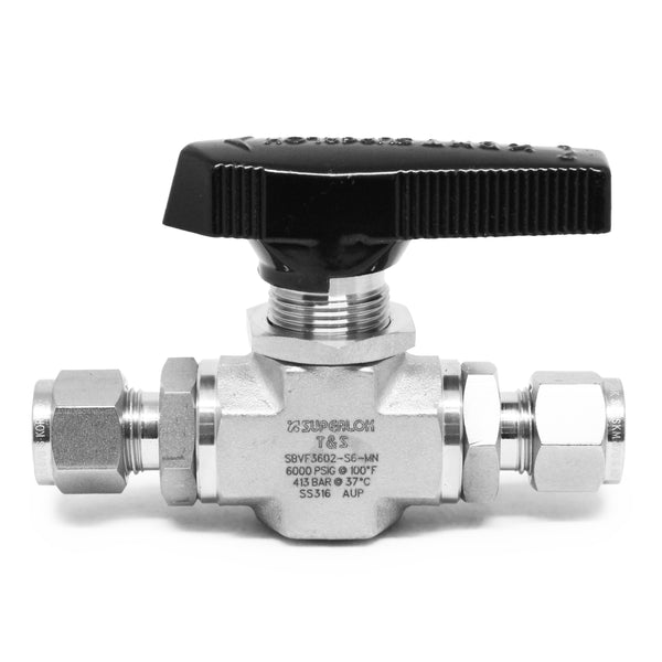 Ball Valve - Superlok Low Temp High Pressure - extraction equipment canada, extraction equipment - Evolved Extraction Solutions