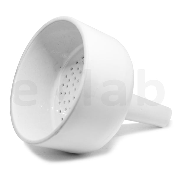 Buchner Funnel - e-lab Porcelain Buchner Funnels 150 - extraction equipment canada, extraction equipment - Evolved Extraction Solutions
