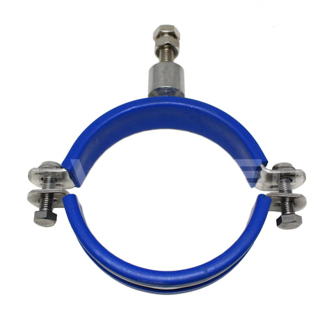 M10 x 1.5mm Rubberized Pipe Clamps