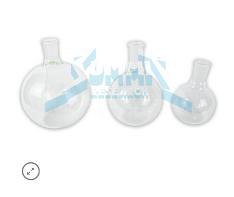 Round Bottom Receiving flasks w/ 29/32 joint - Extraction Equipment Canada - Evolved Extraction Solutions