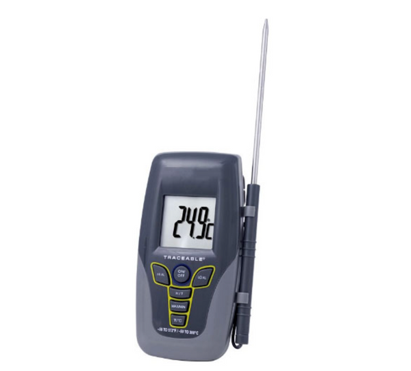 "Traceable Kangaroo 300?øC Digital Thermometer with 4"" SST Probe - Extraction Equipment Canada - Evolved Extraction Solutions"