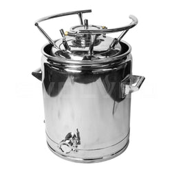 Stainless Steel Dry Ice Bucket for T25 Tank