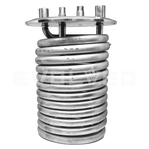 "Condensing Coil - Tri-Clamp 8"" Condensing Coil w/ DT - extraction equipment canada, extraction equipment - Evolved Extraction Solutions"