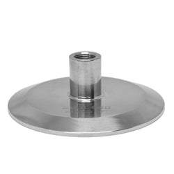 "Tri-Clamp Flat End Cap w/ 3/8"" FNPT - Extraction Equipment Canada - Evolved Extraction Solutions"