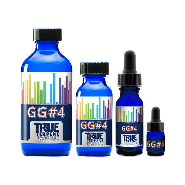 Terpenes - True Terpene Profiles - Gorilla Glue #4