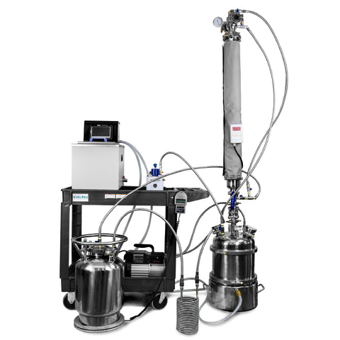 Extractor - Turn-key EV5 PRO - extraction equipment canada, extraction equipment - Evolved Extraction Solutions