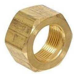Brass Nuts - Tri-Clamp Brass Nuts - extraction equipment canada, extraction equipment - Evolved Extraction Solutions