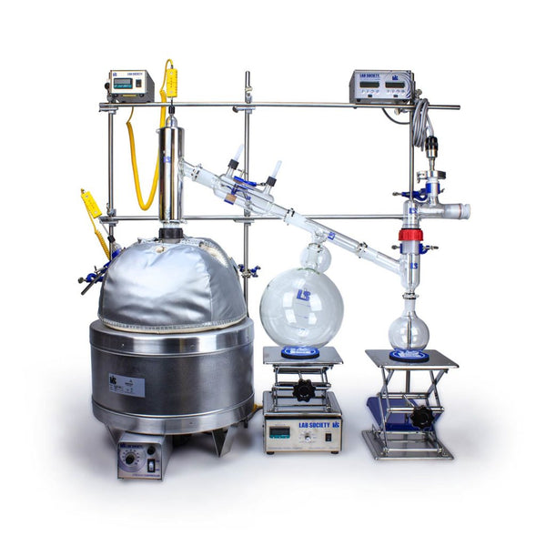 Distilation Kit - 12L G2 Full Bore Short Path DK - extraction equipment canada, extraction equipment - Evolved Extraction Solutions
