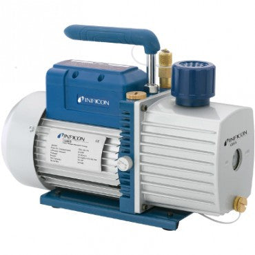 INFICON QS5 Two Stage Rotary Vane Vacuum Pump - extraction equipment canada, extraction equipment - Evolved Extraction Solutions