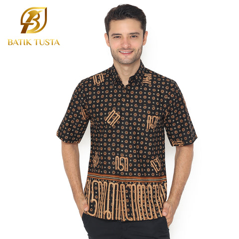 Aksara Short Men's Shirt