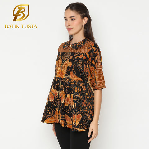 Angesti Short Blouse  (Short Sleeve)