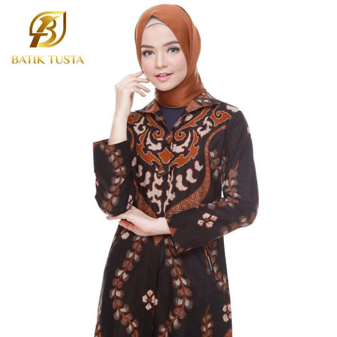 Long Sleeve Blouse - Pramudita Long Sleeve Basic Tunic