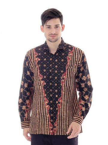 Anjani Men's Shirt  (Long Sleeve)