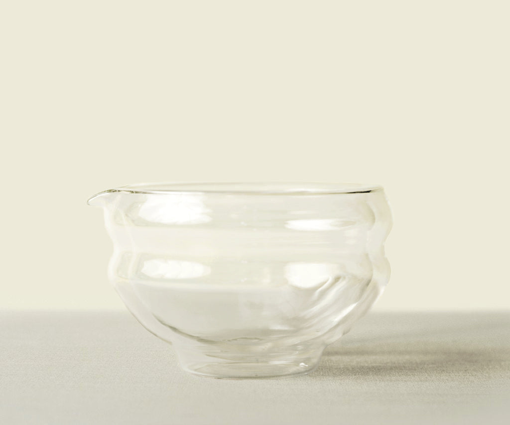 Glass Katakuchi Serving Bowl