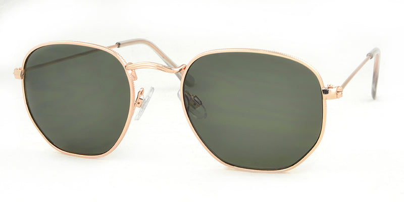 Gold Frame Sunglasses