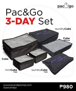 Pac&Go 3-Day Set