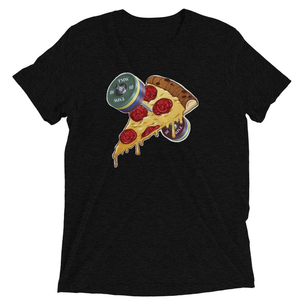 Designer Series - Barbells Love Pizza Tee