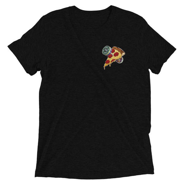 Designer Series - Barbells Love Pizza Pocket Tee