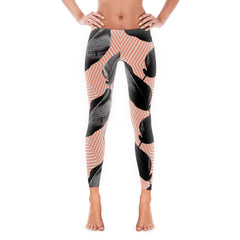 Feather Line Leggings