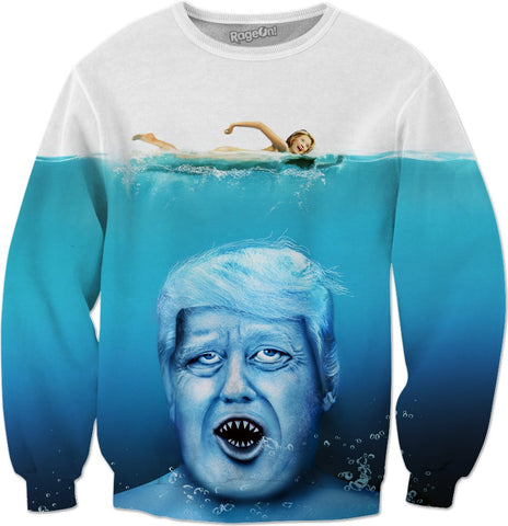 Trump Shark Sweatshirt
