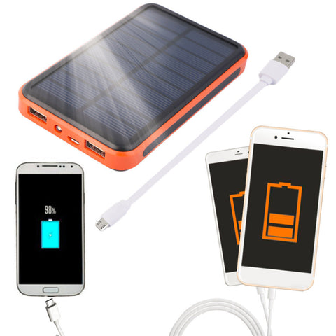 Portable Waterproof Solar Power Bank and Charger