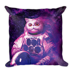 Astro-Cat Square Pillow