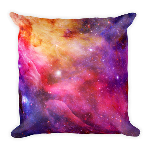 Galaxy Square Pillow