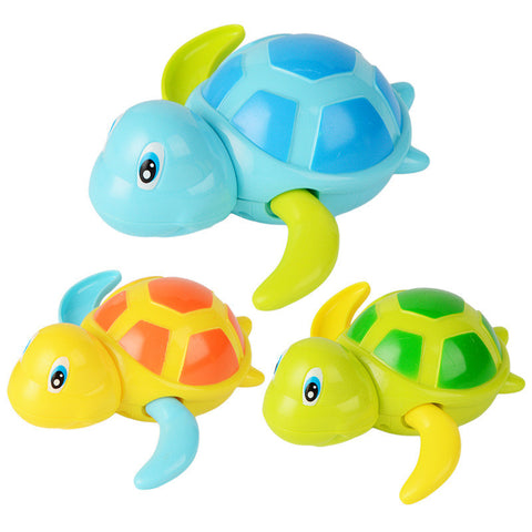 Turtle Babe Swimming Bath Toy - Assorted Colors