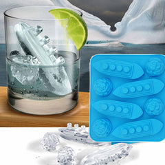 Titanic and Iceburg Ice Cube Tray