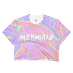 Mermaid Crop T