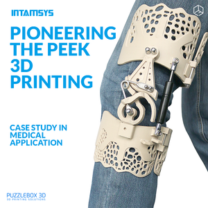 CASE STUDY: Pioneering The PEEK 3D Printing of Bionic Knee Brace