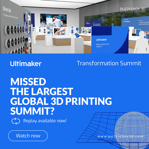 ULTIMAKER TRANSFORMATION SUMMIT: 3D Printing Keynote