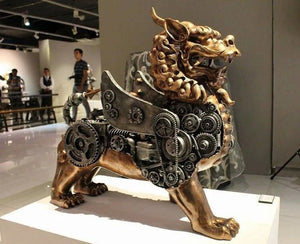 Ram Mallari: Steampunk Sculptures