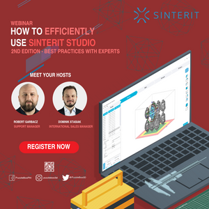 Webinar: How to efficiently use Sinterit Studio