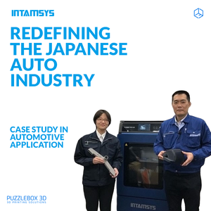 3D PRINTING: Redefining the Japanese Auto Industry