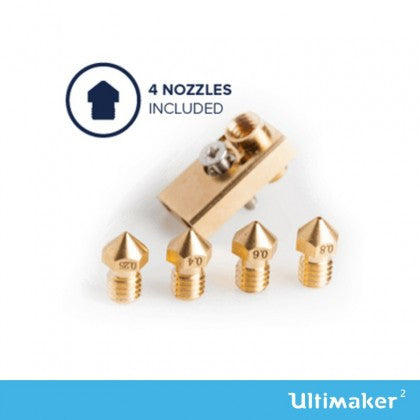 Ultimaker 2 Olsson Block Nozzle Upgrade