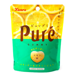 Kanro Pure Gummy Lemon Flavor 1.97 oz