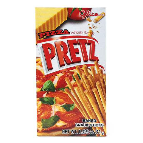 Glico Pretz Pizza Flavor Biscuit Sticks 1.09 oz