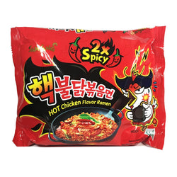 Samyang Double Spicy Chicken Roasted Ramen Noodles 140g