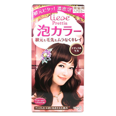 Kao Prettia Bubble Hair Color Natural Mocha