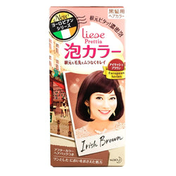 Kao Prettia Bubble Hair Color Irish Brown