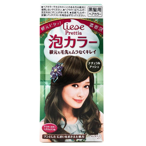 Kao Prettia Bubble Hair Color Natural Ash