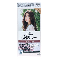 Kao Liese Prettia Bubble Hair Color Provence Rose