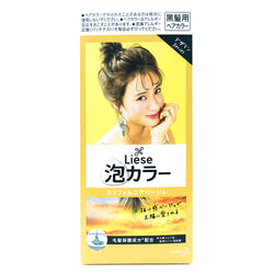Kao Liese Prettia Bubble Hair Color California Beige