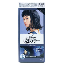 Kao Liese Prettia Bubble Hair Color Dark Navy