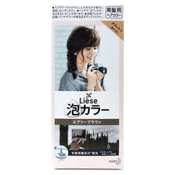 Kao Liese Prettia Bubble Hair Color Airy Brown