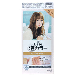 Kao Liese Prettia Bubble Hair Color Milk Tea Brown