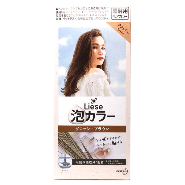 Kao Liese Bubble Hair Color Glossy Brown