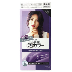 Kao Liese Bubble Hair Color Deep Violet