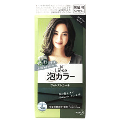 Kao Liese Bubble Hair Color Forest Khaki